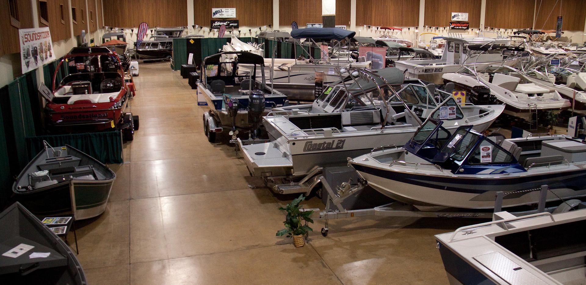 Lane Events Center Exhibit Hall Boat Show
