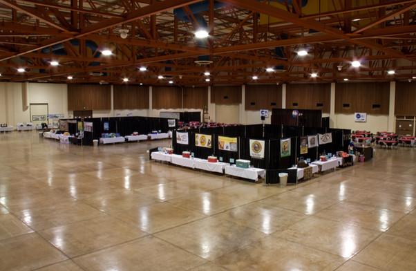 Lane Events Center Exhibit Hall Microbrew Festival Set