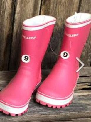 Childrens Pink Gumboots