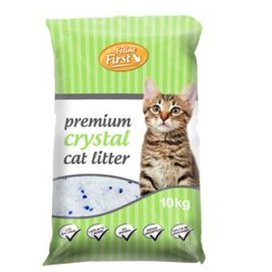 Premium Crystals Cat Litter 4kg