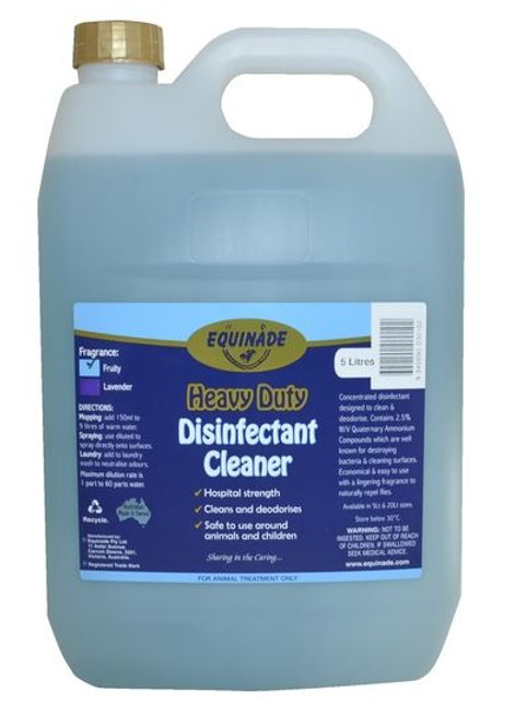 Heavy Duty Disinfectant Cleaner  5ltr