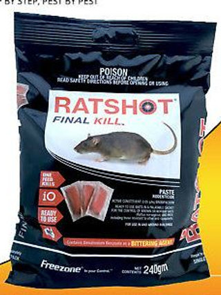 RATSHOT Final Kill 240gm