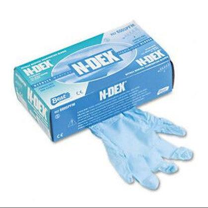 N-DEX Nitrile Gloves Pk 100