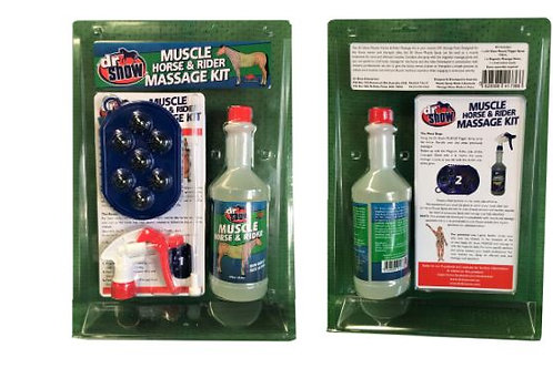 Dr Show Muscle and Rider Massage Kit