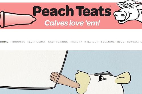 Peach Teats .. Single