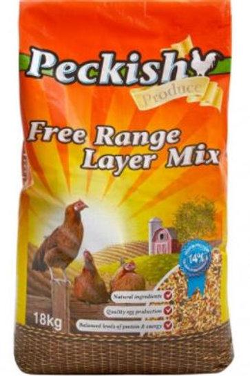 Peckish Free Range Layer Mix 18kg