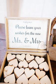 Wünsche für die Newlyweds