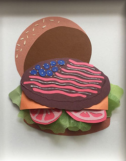 4th of July Burger