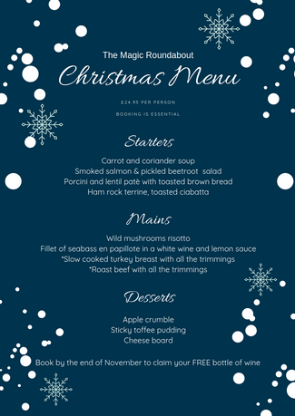 Christmas Menu by meaningfulmarketing