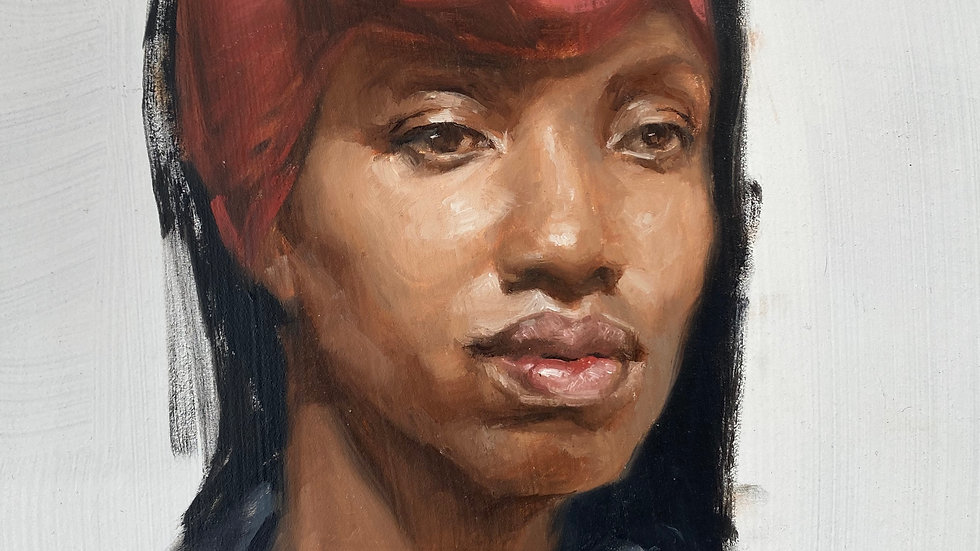 Portrait Study from Life
