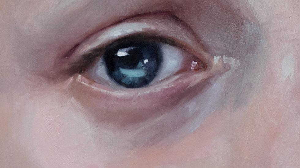 Eye of Young Boy