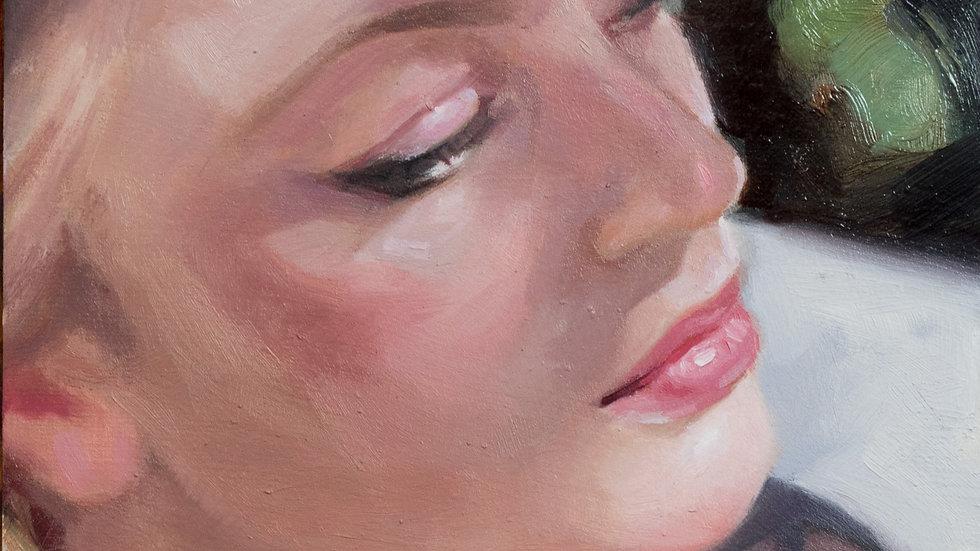 Portrait in Dappled Shape