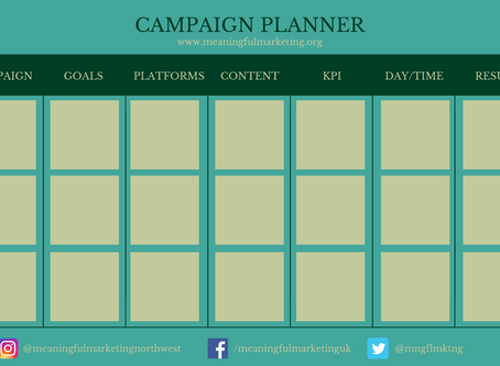 Campaign Planner Template (Free!)