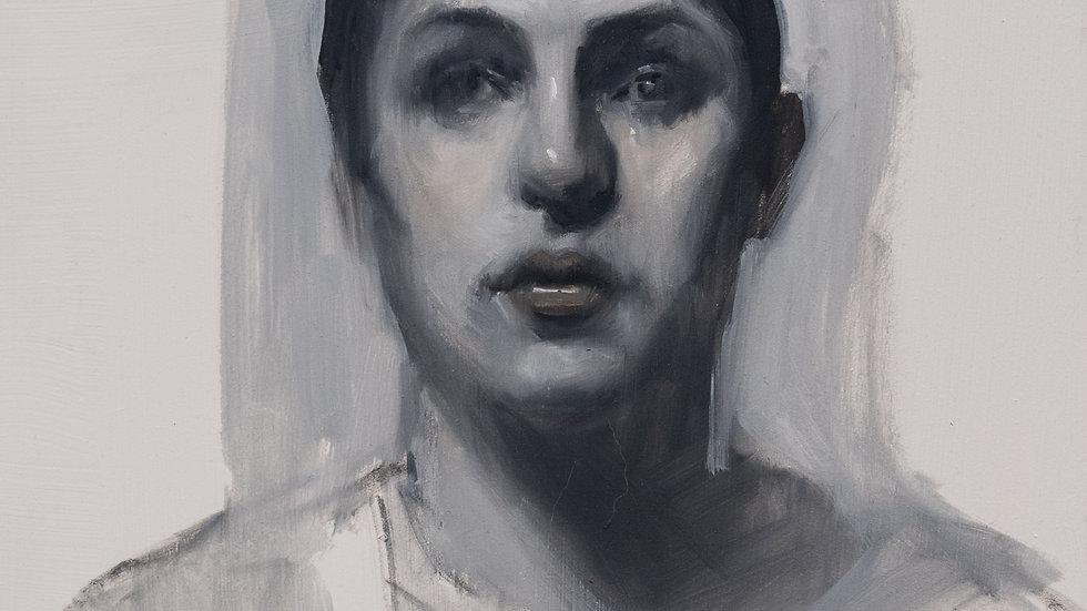 Black and White Portrait Study