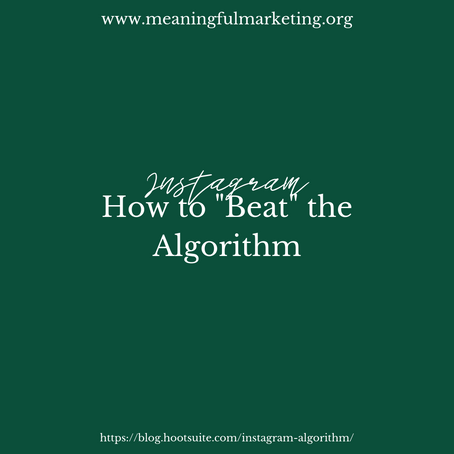How to Understand & Beat the Instagram Algorithm