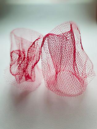 Red Netting Pair 01, 2020