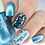 Thumbnail: Colour Alike - Electric Blue Stamping Polish