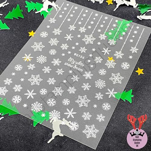 Snowflake Dream! Stickers