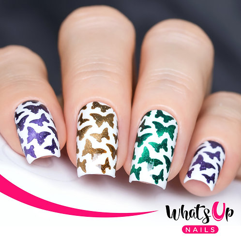 Whats Up Nails - Butterfly Stencils