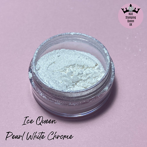Ice Queen - Pearl White Chrome