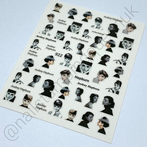 Audrey Stickers