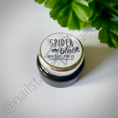Spider Gel! Basic Black