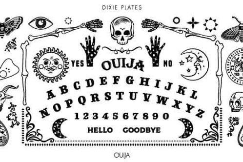 Dixie Mini Ouija Plate