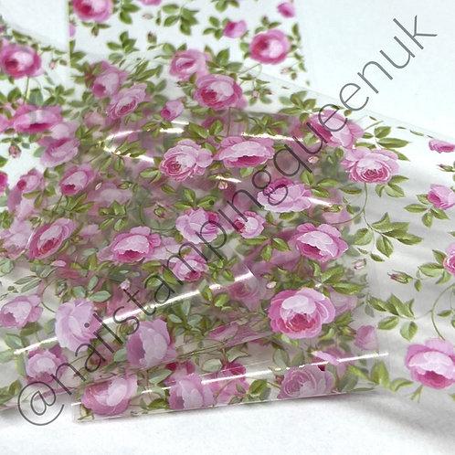 French Rose Transfer Foil