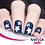 Thumbnail: Whats Up Nails - Northern Star Stencils