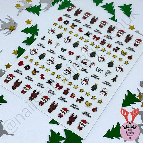 Christmas Eve! Stickers