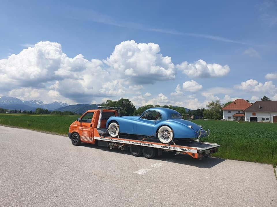 Oldtimer-Transport