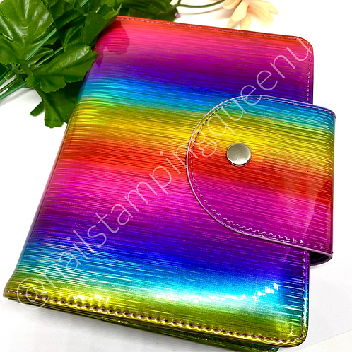Rainbow Storage Folder ~ Dixie Plates