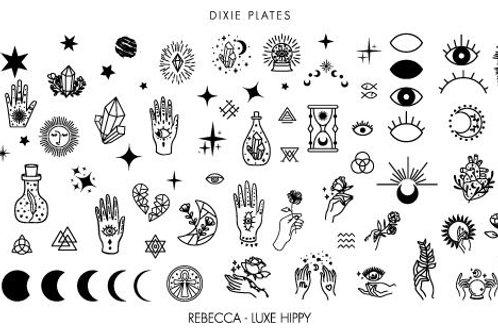 Dixie Mini Rebecca - Luxe Hippy Plate