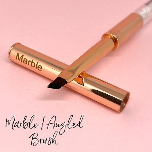 Marble Angled Brush