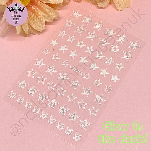 Star Stickers - Glow in the dark!