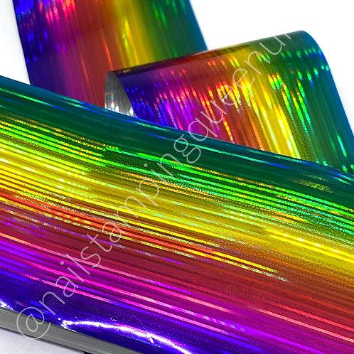Electric Rainbow Transfer Foil