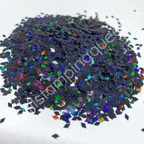 Dazzle Diamonds ~ Black Holo
