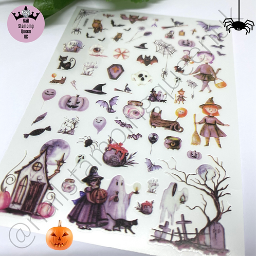 Halloween Stickers -Witches Brew!