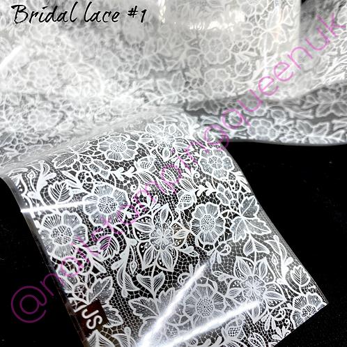 Bridal Lace Transfer Foil