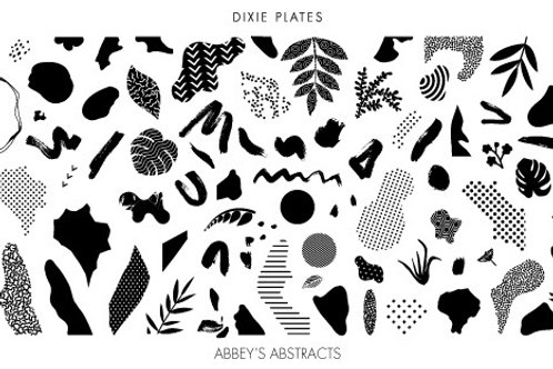 Dixie Mini Abbey's Abstract Plate