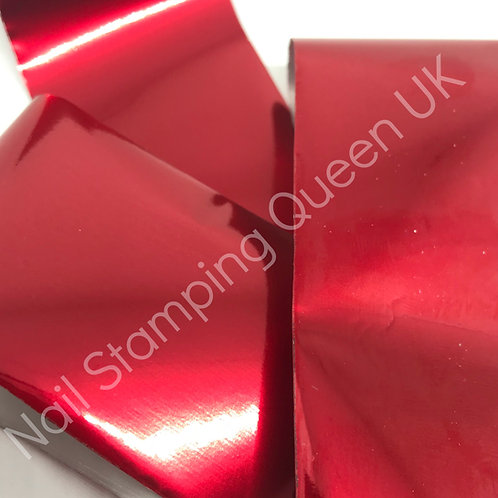 Red Metallic Transfer Foil