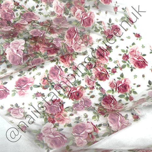 Damask Rose Transfer Foil