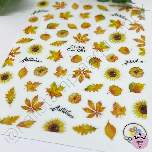 Autumn Leaf Stickers