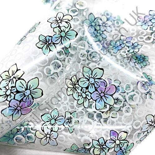 Hydrangea Floral Transfer Foil