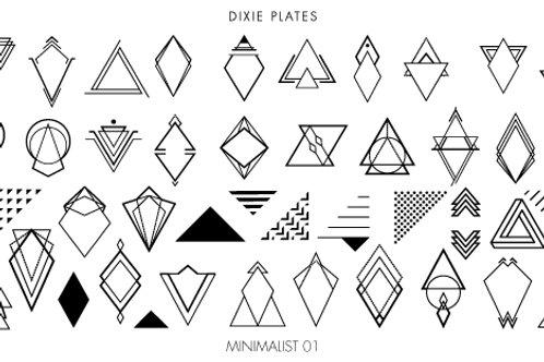 Dixie Mini Minimalist 01 Plate