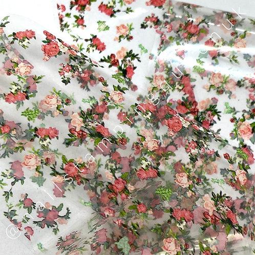 Peachy Rose Transfer Foil