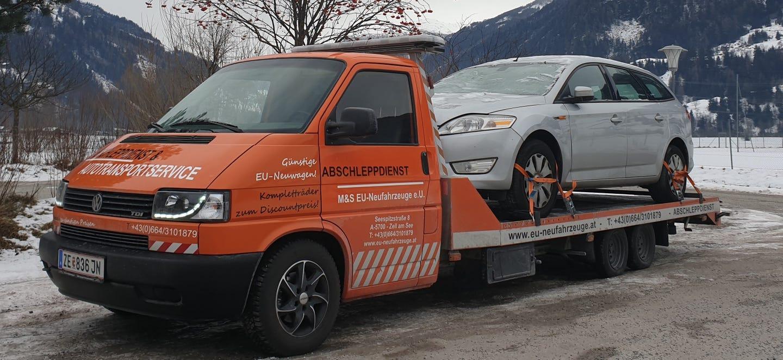 Transport defekter Fahrzeuge