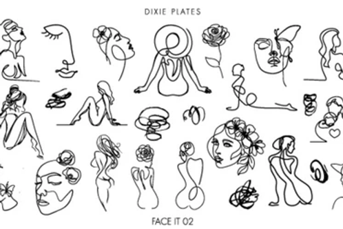 Dixie Plates Mini Face it 02