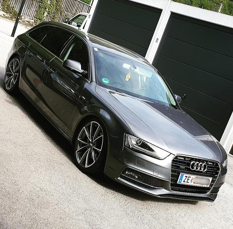 MAM A5 auf Audi A4 AVANT.jpg