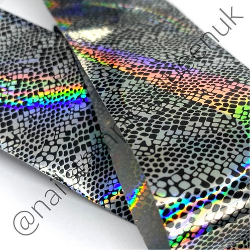 Holo Snake Print Transfer Foil
